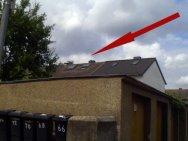 fertig eingebaute Dachfenster, die anderen hat ein Kollege eingebaut